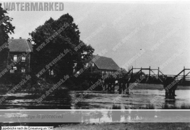 Lippebruecke_nach_der_Erneuerung_um_1948